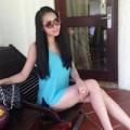 Làng sao sony - Phi Thanh Vân khoe chân thon dài