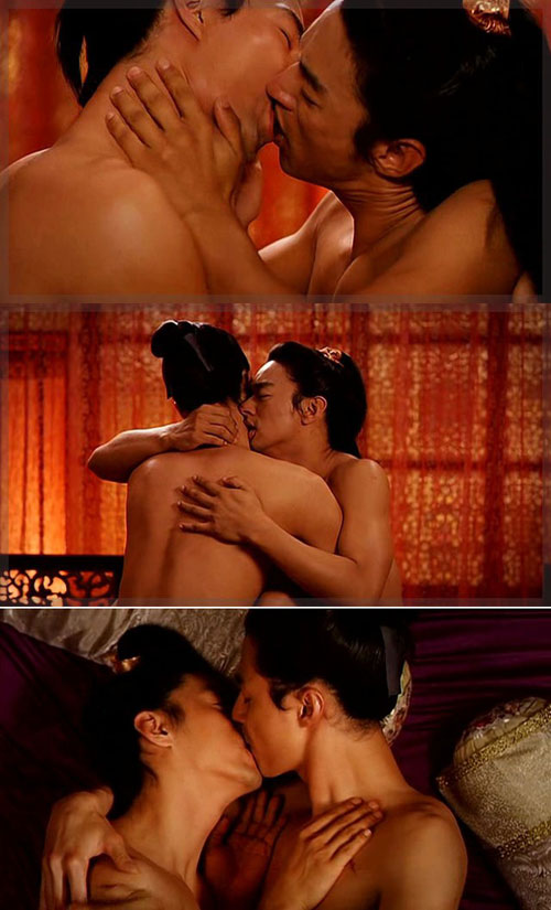 nhung canh yeu dong tinh nong trong phim han - 1