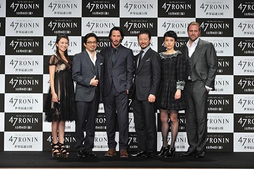 a hau hoàng my den tokyo du ra mat phim 47 ronin - 1