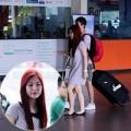 Làng sao - Hương Tràm xuất hiện buồn hiu ở sân bay