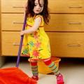 Làm mẹ - Tuyệt chiêu dạy con việc nhà của mẹ Mỹ