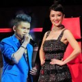 """Làng sao - Hồng Nhung """"thách"""" Hoàng Tôn thi The Voice Mỹ"""
