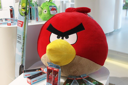 """tham """"to chim"""" cua hang angry birds - 3"""