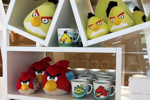 """tham """"to chim"""" cua hang angry birds - 4"""