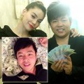 Làng sao - Quang Lê quá đà khi mang tiền ra đùa