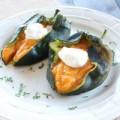 Bếp Eva - Bí đỏ nhồi: Món ngon mùa Lễ Tạ Ơn