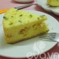 Bếp Eva - Ăn sáng với bánh ga-tô ruốc mặn