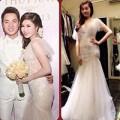 Làng sao - Vợ Đăng Khôi thuê váy cưới giá 6 triệu