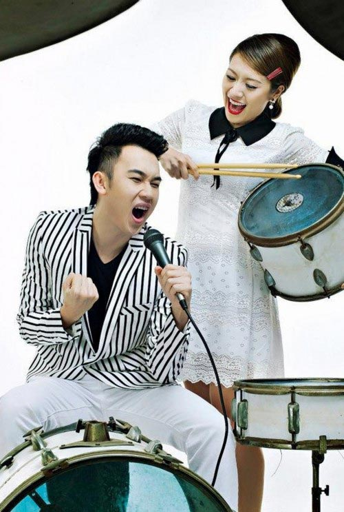 "ha ho ""ru"" thuy tien, minh hang cung don tet - 4"