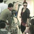 Làng sao sony - Bắt gặp Thanh Thảo và bạn trai ở sân bay
