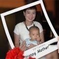 """Làng sao - Thúy Vinh: """"Mẹ hạnh phúc nhất vì có con"""""""
