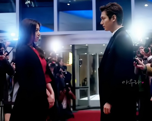 hau truong phim the heirs tap 18 - 7