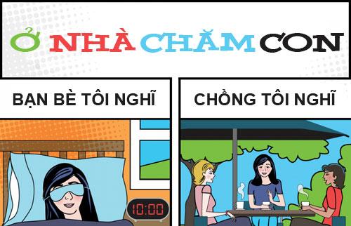"""""""chan"""" vi o nha cham con bi coi thuong - 1"""