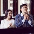 Làng sao - Vy Oanh 'hẹn hò' Nguyễn Hồng Ân nơi giáo đường