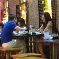 Làng sao - HH Thùy Dung đi ăn với chồng cũ Ngọc Thúy