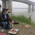 Tin tức - Thi thể chị Huyền có thể nằm gần cầu Thanh Trì