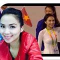 Làng sao - HH Diễm Hương diễu hành cùng đoàn thể thao VN