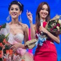 Làng sao - Nong Poy nhạt nhòa tại show Lâm Chi Khanh