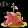 Bếp Eva - Bánh sinh nhật đẹp lung linh cho bé gái