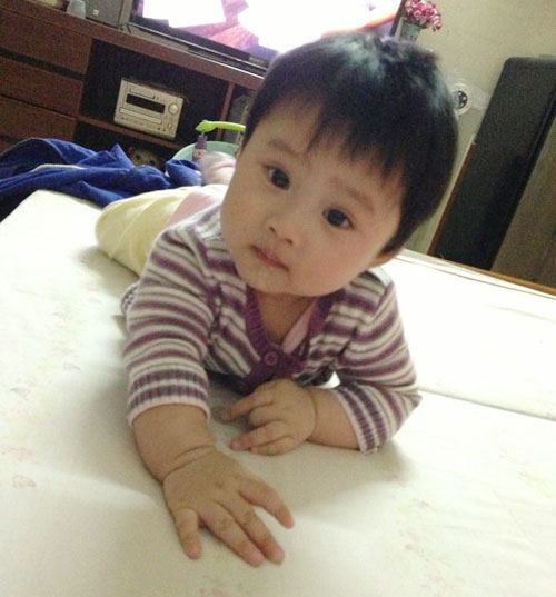 nguong mo: con 4 thang, me giam 25kg - 6