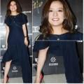 Thời trang - Hi Hữu: Triệu Vy 'mất chân' trong  váy xịn