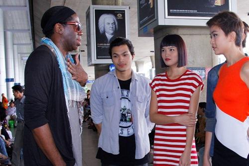 giam khao ameria's next top model den viet nam - 7