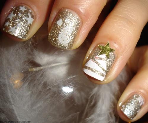 tips ve nail cay thong noel qua de - 7
