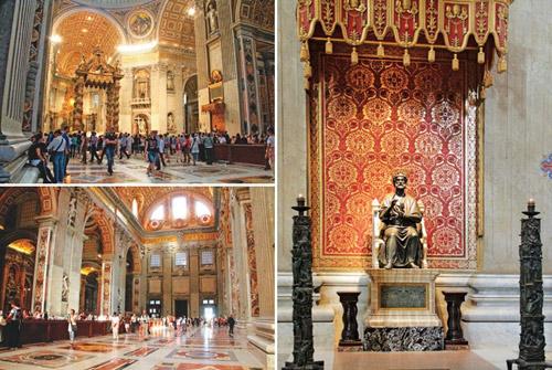 vatican: the gioi thu nho cua kien truc, hoi hoa y - 9