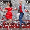 Làng sao - Nam Cường nhảy múa trên phố cùng Cao Mỹ Kim