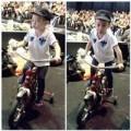 Làng sao - Subeo theo Hà Hồ đến trường quay ghi hình