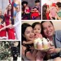 """Làm mẹ - Noel """"sang chảnh"""" của con sao Việt"""