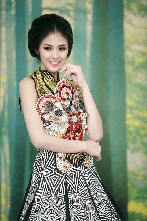 """ngoc han tu tin khong ngo """"vay tuot"""" - 4"""