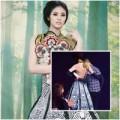 """Làng sao - Ngọc Hân tự tin không ngờ """"váy tuột"""""""