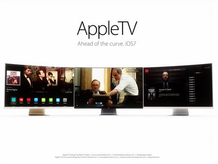 y tuong thiet ke chiec apple hdtv cong tuyet dep - 1