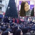 Fan xếp hàng dài chờ gặp Park Shin Hye