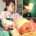 Bà bầu - Xem tận mắt ca đẻ mổ của mẹ Việt