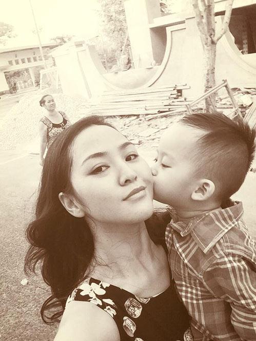 phan thi ly hanh phuc khoe bung bau 3 thang - 2