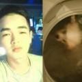 Tin tức - Nam thanh niên 'tắm' chó bằng máy giặt gây phẫn nộ