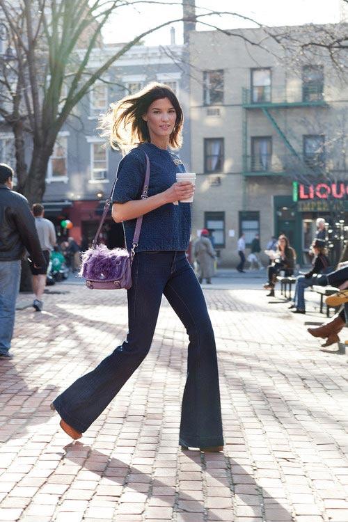 """Chọn quần jeans """"trị"""" mông lép, chân to - 6"""