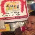 """Làng sao - Vợ sắp """"lâm bồn"""" vẫn tổ chức sinh nhật cho Tuấn Hưng"""