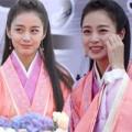 Làng sao - Kim Tae Hee lộ nếp nhăn khi đóng phim tại Trung Quốc