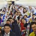 Tin tức - TQ: 58 cặp đôi kết hôn tập thể trên máy bay