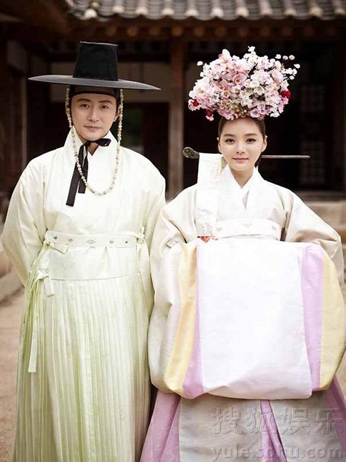 Lộ thêm loạt ảnh cưới như phim cổ trang của Chae Rim - 1