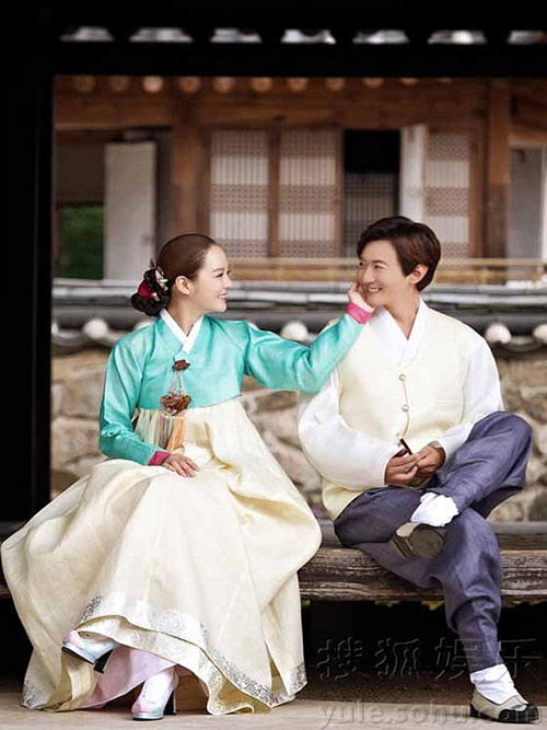 Lộ thêm loạt ảnh cưới như phim cổ trang của Chae Rim - 5
