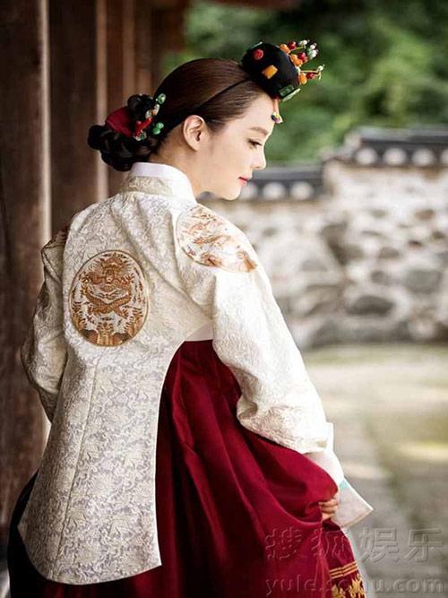 Lộ thêm loạt ảnh cưới như phim cổ trang của Chae Rim - 7