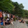 Tin tức - Hà Nội: Thả lưới mò xác nạn nhân dưới hồ Hoàng Cầu
