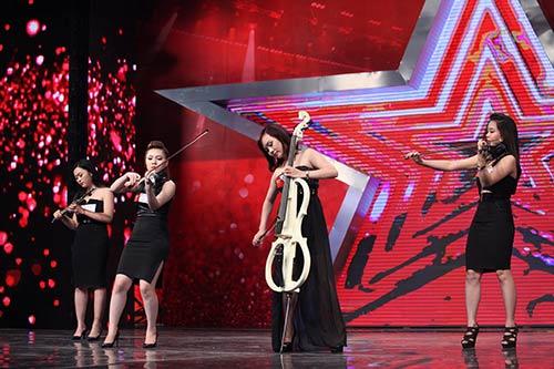 """vn's got talent: thi sinh hung bien, bgk """"nhan mat"""" - 6"""
