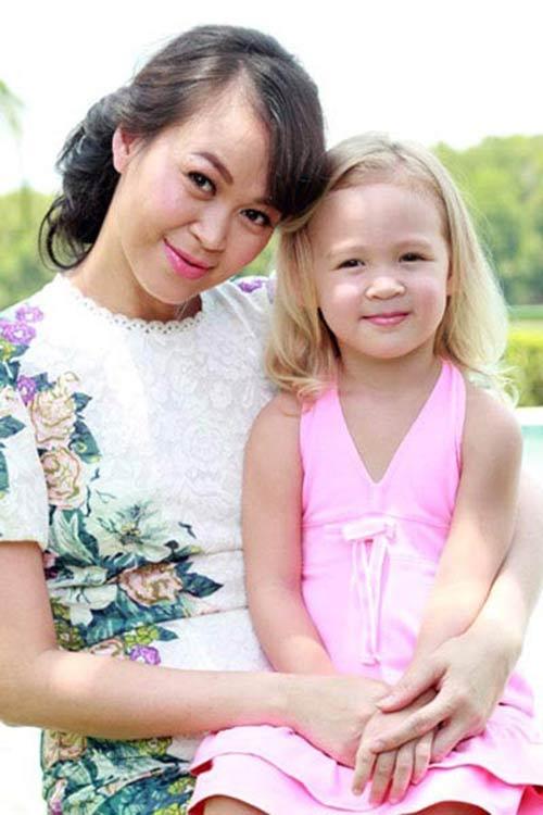 Ngắm các thiên thần lai siêu đáng yêu của sao Việt - 10