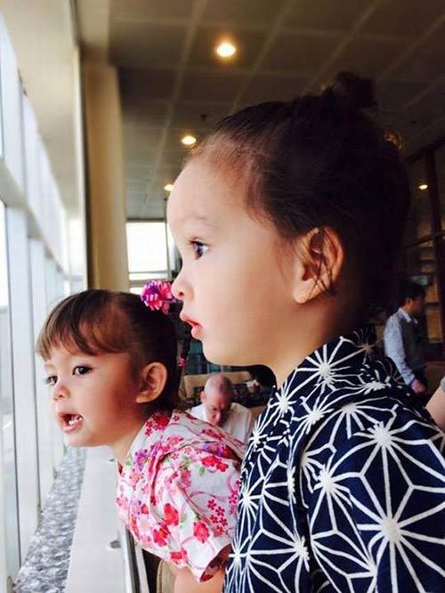 Ngắm các thiên thần lai siêu đáng yêu của sao Việt - 2