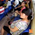 Mang thai 3-6 tháng - Mệt mỏi chờ đợi khám thai tại BV Phụ sản